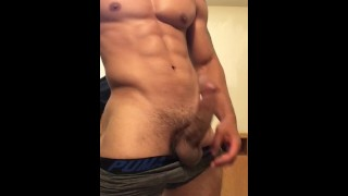 Sexy stud jerking off until he drains his balls Multiple best