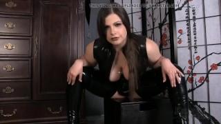 KM - Latex Sissy Faggot  kink joi big boobs masturbate