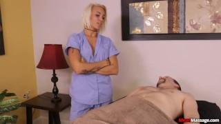 Session the massage feisty femdom babes blake carter bondage perky