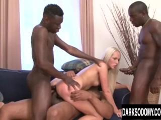 Xvideos Miosotis Fucking, Lots of black dicks vs Jennys asshole Blonde Hardcore Interracial Pornstar Double