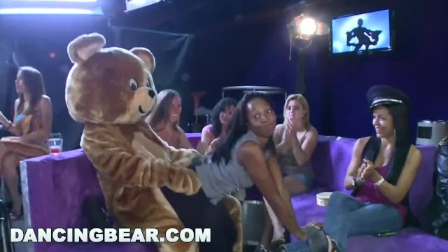 Muscle bear sex Dancing bear - starting the party right with big dicks swinging bitches