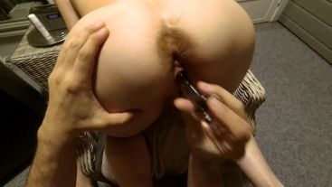 Squirting MiLF fucked and creampied and then fucked again