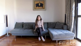 Fit18 - Anya Krey - 53kg - 173cm - Arab Teen Loves Gagging Brunette style