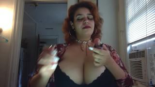 smoking fetish, hot, big tits/ breast play