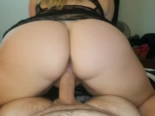 Horny GF Fucks And Takes Huge Load