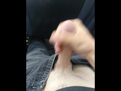 Masturbating on public bus