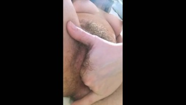 Me fingering my pussy and eating my cum juise