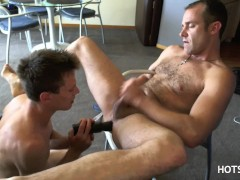 DILDO'd, Fingered & FUCKED by YOUNGER BROTHER - BARE BROS