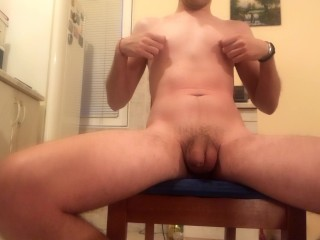 Just flexing fun after the shower