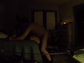 Babygirl Struggling to Get Away from Anal Pounding, Daddy Rewards Her