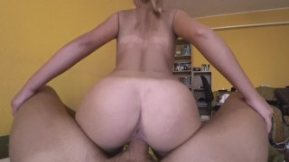 Stepsister WANTS to send nudes to boyfriend but instead I FUCK her!