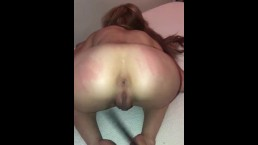 Submissive cum slut has a swollen jiggly pussy