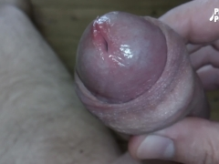 Closeup Masturbation - Almost shot the camera - Huge cumshot