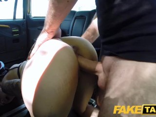 Trampling In Russian Fake Taxi Spanish Tattooed Redhead Hottie Horny For Big Cock, Amateur Blowjob