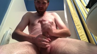 Mojo edges then uses his cum as lube to cum again
