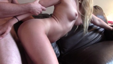 Quicky for daddy turns into HARD LONG FUCK!!!! Amateur couple- Crazyass6