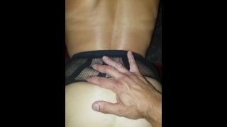 Real Amateur gangbang unprotected creampie hotwife w/ cheating neighbors