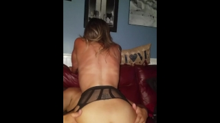 Real Amateur gangbang unprotected creampie hotwife w/ cheating neighbors Natural homemade