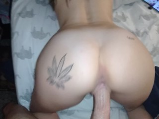 Amateur Cocksucker Tiny Hales gets fucked HARD