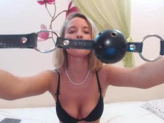 Humiliated lil slave - foot licker & ass licker for EroticTanya