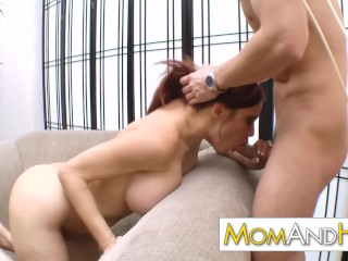 Amateur Sleep Sex Videos Big tit MILF mom Sheila Marie fucked hard