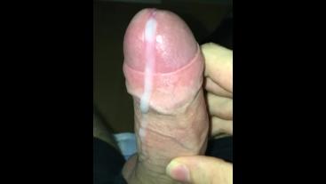 Rubbing My Cum All Over My Dick, Milking My Boner Again