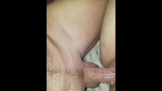HUGE CREAMPIE my neighbor CUMS IN MY DIRTY HOTWIFE pussy while husband@work Hidden voyeur