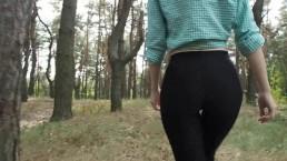 Ukrainian Amateur Teen Forest Blowjob (teaser) - KoskaetLeska