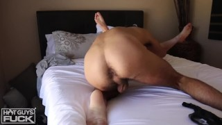 White Boy With BIG DICK makes love to LATINA w/ FAT ASS Hd pov
