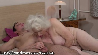 LustyGrandmas Sensual Granny Uses Hairy Box to Ride Young Dick Tiny missionary