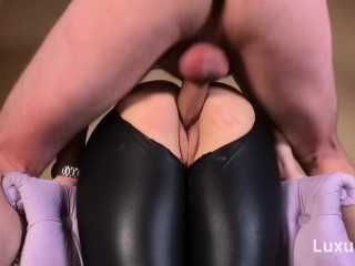 LuxuryGirl – Very Hot Russian Teen Fuck Through Leggings.