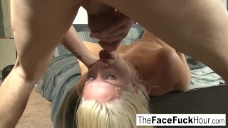 Layla Pryce gets her pretty face fucked