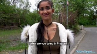 Public Agent Darcia Lee fucked under a bridge Mouth and