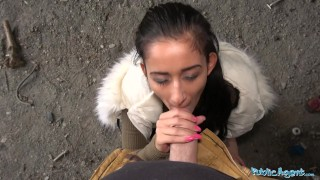Lee darcia fucked a agent under bridge public outside for