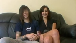 Young amateur couple fucks in their first homemade video