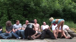 extreme rough groupsex orgy