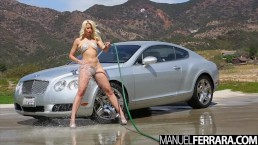 Manuel Ferrara - Anikka Albrite Fucked Hard After Sexy Car Wash Montage