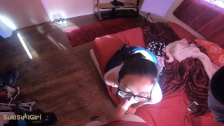 SukiSukiGirl is BACK! brutal pov Throatfuck & Creampie  point of view homemade couple asian amateur blowjob thick head white pov interracial deepthroat facefuck throatfuck gopro sukisukigirl