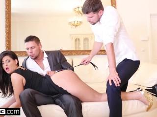 Sexy Bangla Vidio Coco De Mal Cums Hardest When She Gets Double Penetrated, Big Ass