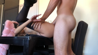 My girlfriend adore anal punishments. HD Big anal