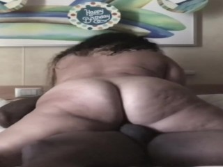 Gianna masturbation thick pawg rides dick on cruise ship., thick thick white girl pawg milf