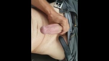 Public masturbation