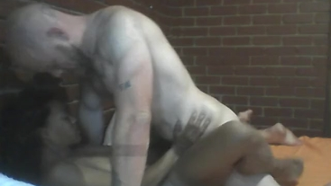 Big Sexy pounding and fucking Sia extremely hard and rough