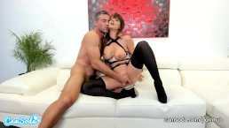 CamSoda - Emily Addison and Charles Dera 1st Time on Cam POV BlowJob