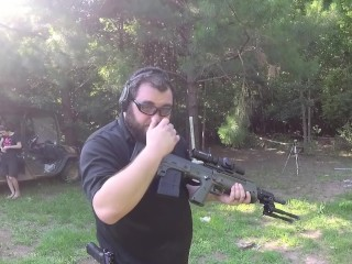 Weapon of the Future? - Kel Tec RFB Shooting - First Impressions Review
