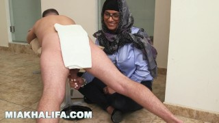 Milking fun khalifa for two just your favorite pornstar arab mia cocks lebanese mia