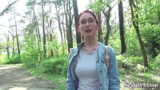 Gefickt scout german lia rothaarige wald der im uni louise nach young public