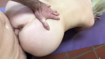 My annoying stepbrother slips into my pussy