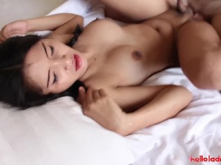 Hello LadyBoy – Amateur threesome with 2 Thai ladyboys