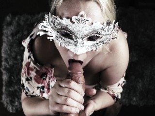 Busty MILF CFNM Blowjob Facial Big Natural Tits